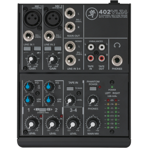 Mackie 402VLZ4 4-Channel Mixer thumbnail