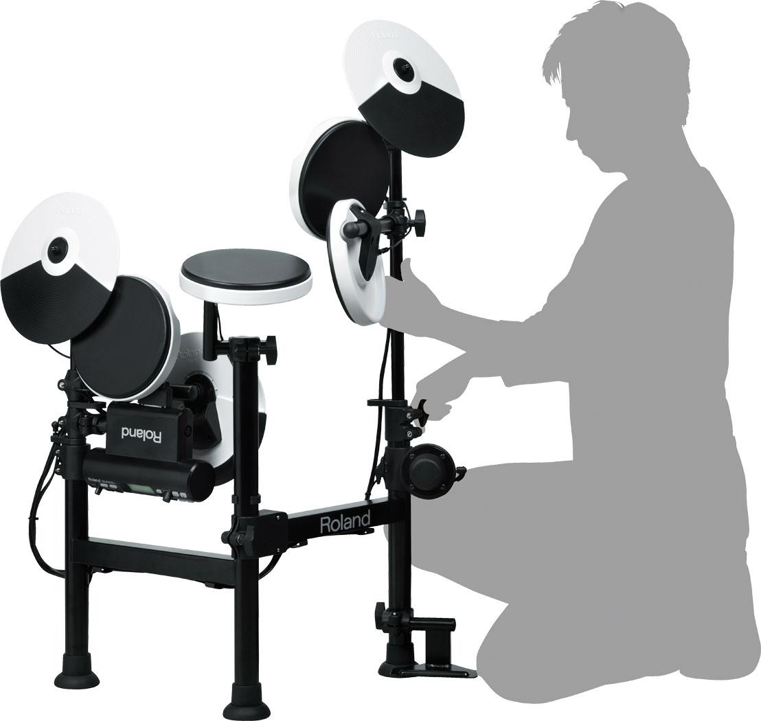 roland td 4kp v drums portable electronic drum set elevated audio. Black Bedroom Furniture Sets. Home Design Ideas