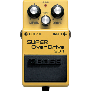 BOSS SD-1 Super Overdrive Pedal thumbnail
