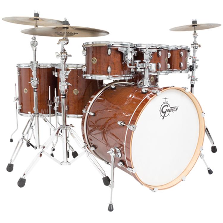 gretsch catalina maple cm 1 drum set 7 piece elevated audio. Black Bedroom Furniture Sets. Home Design Ideas
