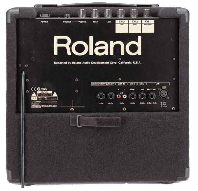 roland kc 60 keyboard amplifier elevated audio. Black Bedroom Furniture Sets. Home Design Ideas