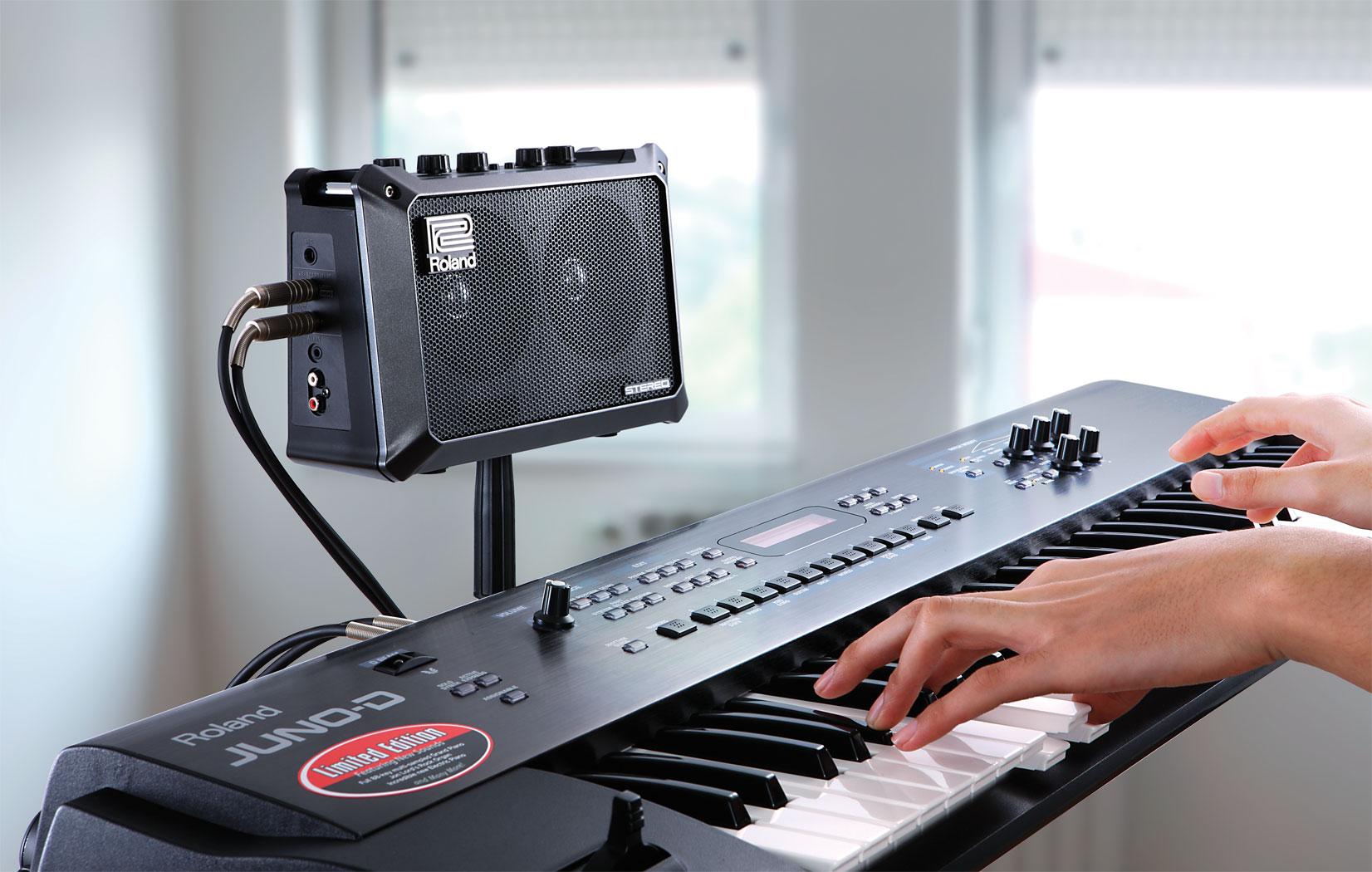 roland mobile cube portable amplifier elevated audio. Black Bedroom Furniture Sets. Home Design Ideas