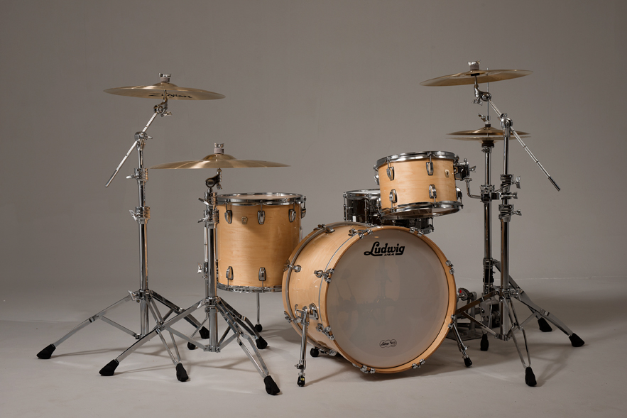 ludwig classic maple ready to play drum sets elevated audio. Black Bedroom Furniture Sets. Home Design Ideas
