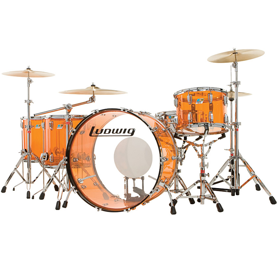 Ludwig Vistalite Drum Sets thumbnail