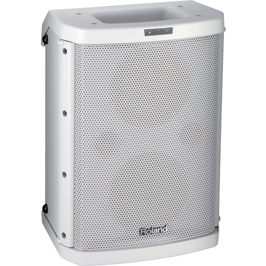 Roland BA-55 Portable Amplifier (White) thumbnail