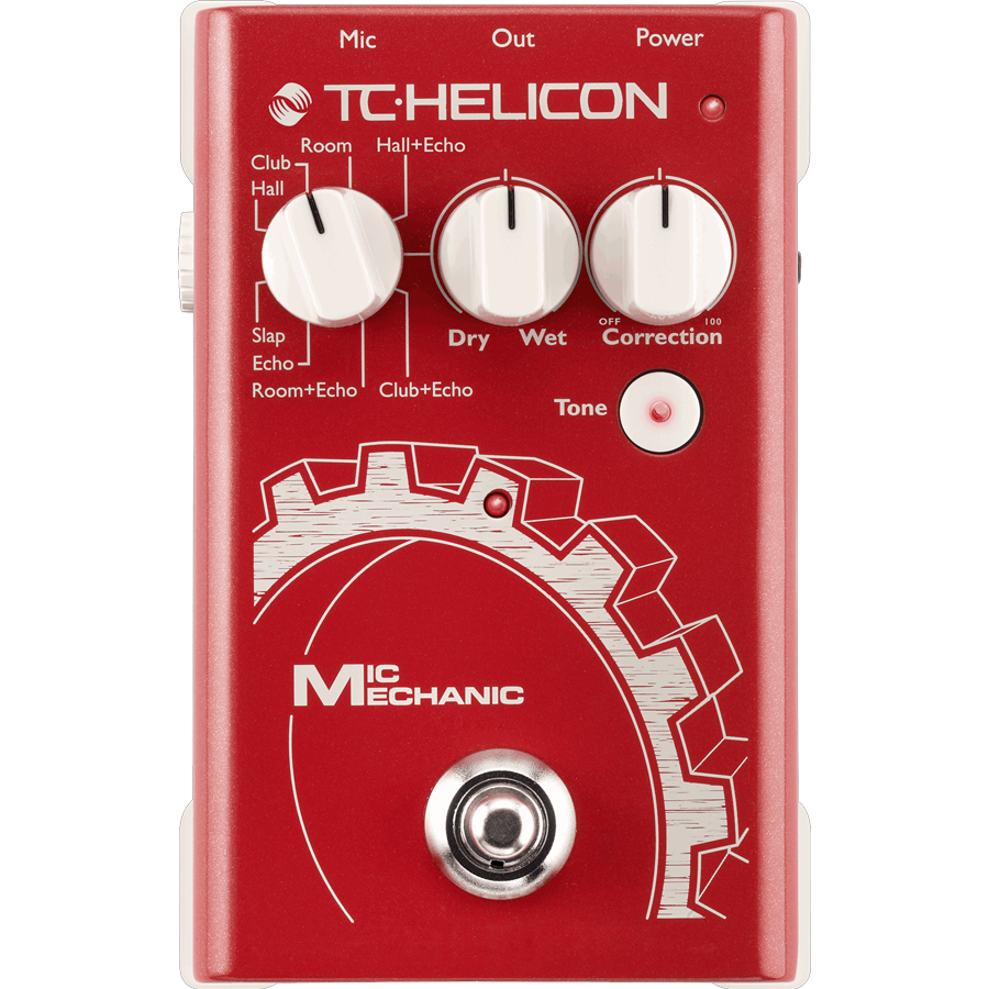 TC-Helicon Mic Mechanic FX Processor thumbnail