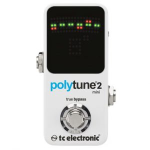 TC Electronic PolyTune 2 Mini Guitar Tuner thumbnail
