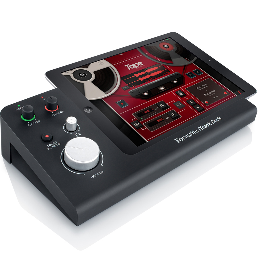 Focusrite iTrack Dock Tablet Recording Interface thumbnail