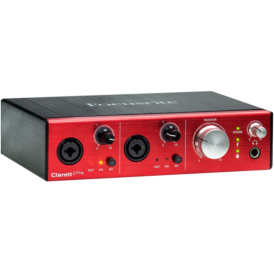 Focusrite Clarett 2Pre Thunderbolt Audio Interface thumbnail