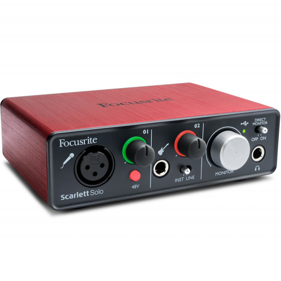 Focusrite Scarlett Solo USB Audio Interface thumbnail