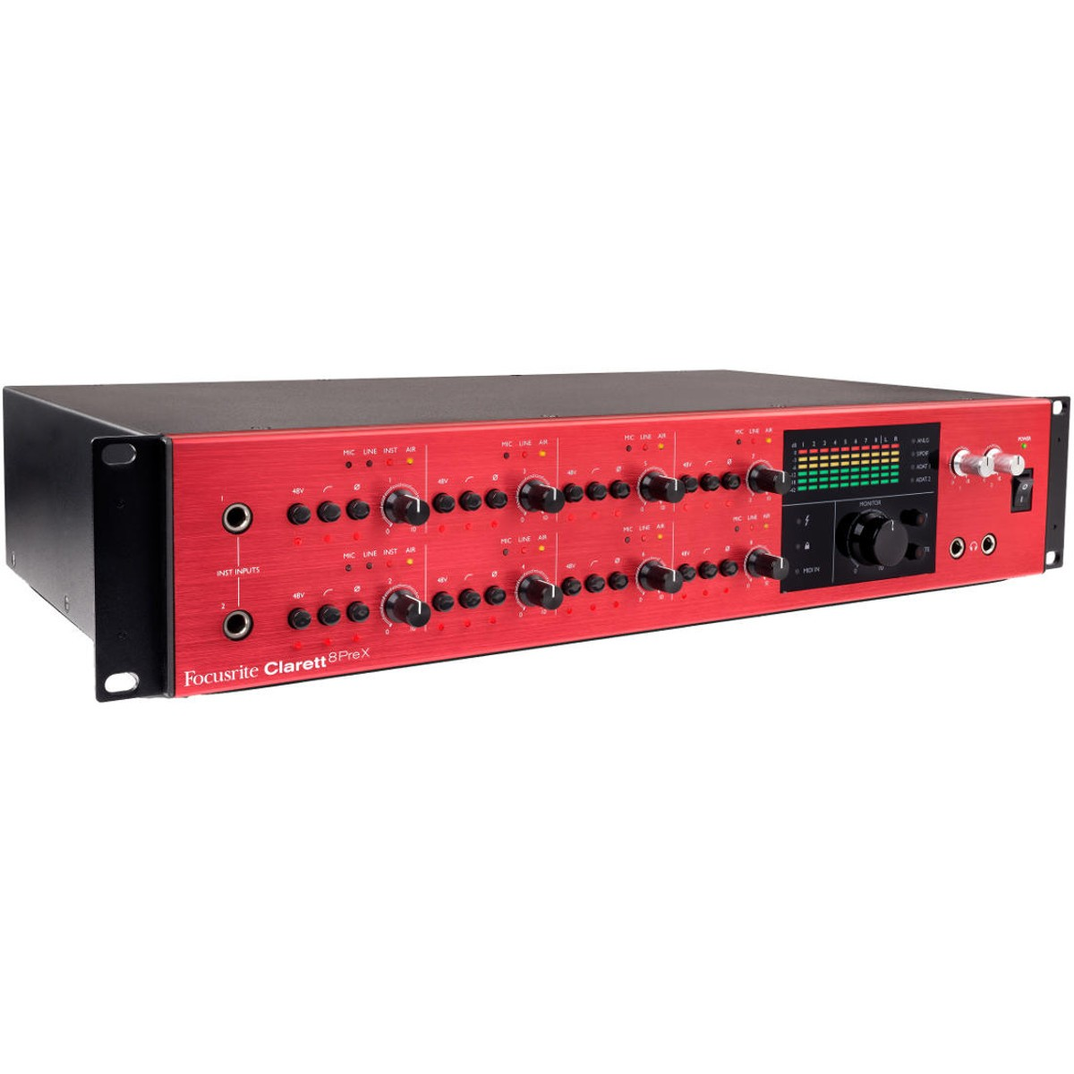 Focusrite Clarett 8Pre X Thunderbolt Audio Interface thumbnail