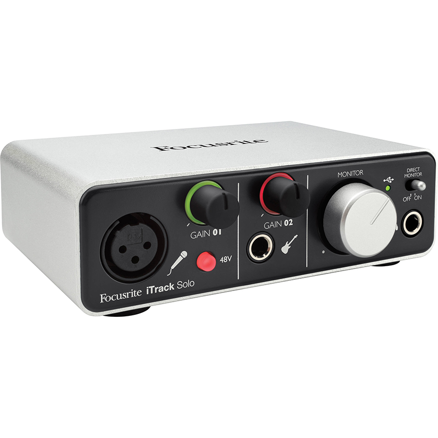 Focusrite iTrack Solo USB Audio Interface thumbnail