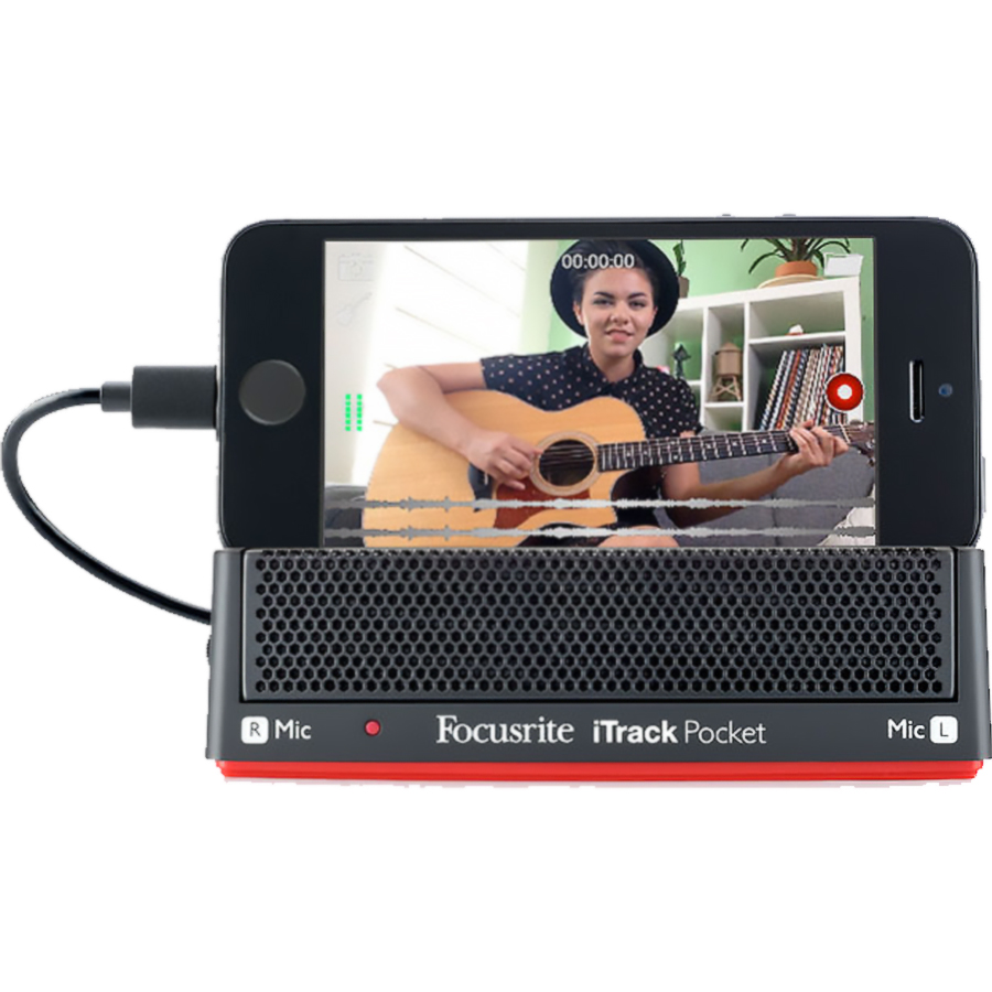 Focusrite iTrack Pocket iOS Audio Interface thumbnail