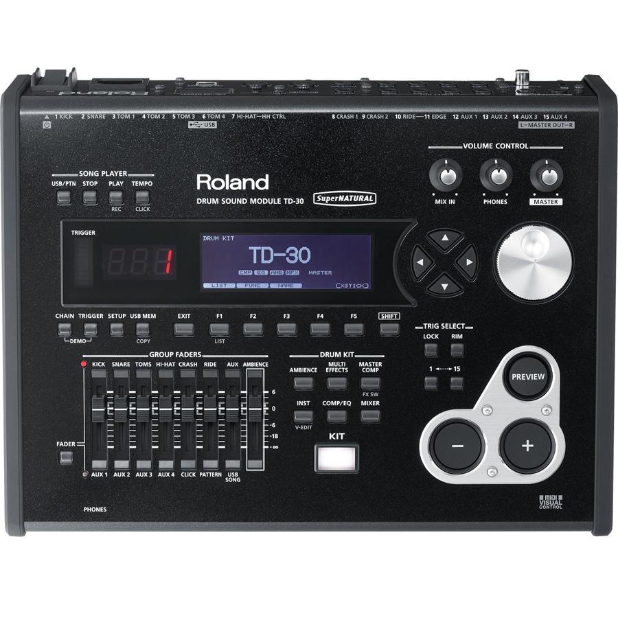 Roland TD-30 Drum Sound Module thumbnail