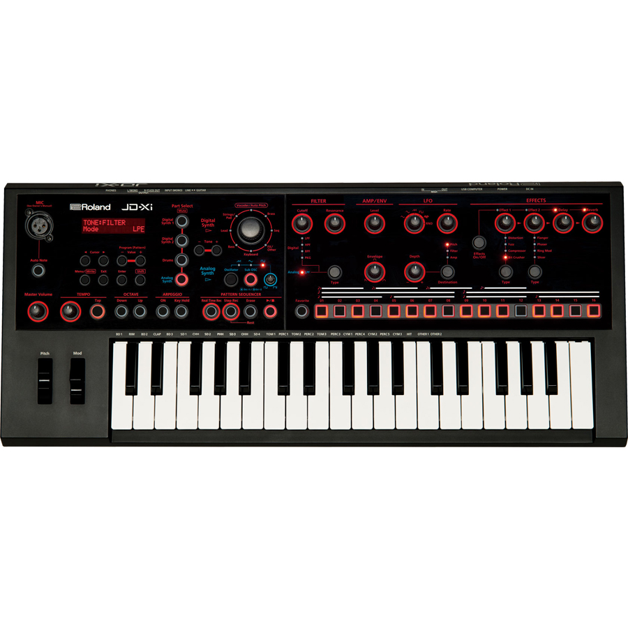 Roland JD-Xi Interactive Analog/Digital Crossover Synthesizer thumbnail