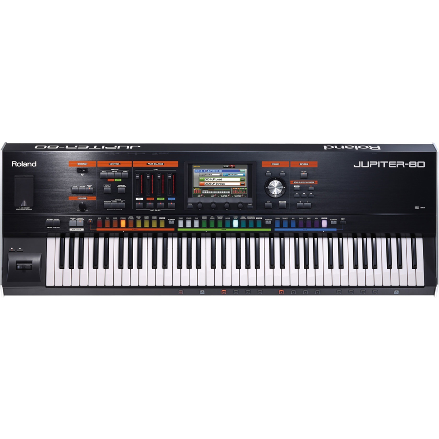 Roland JUPITER-80 76-Key Stage Synthesizer thumbnail