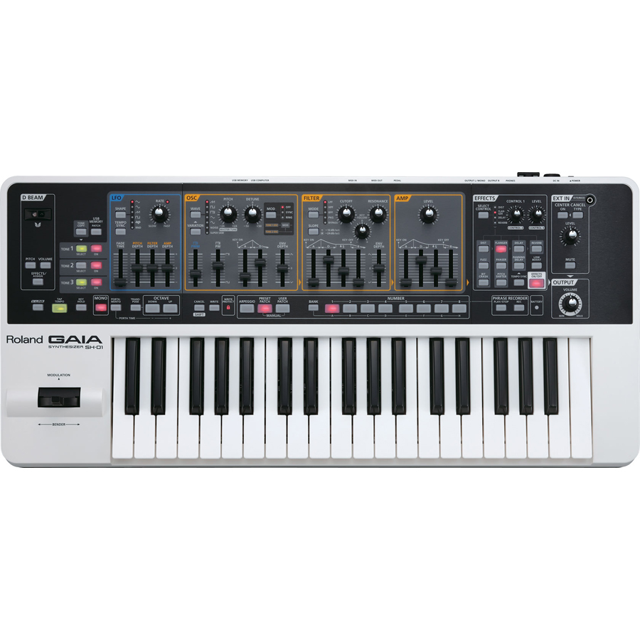 Roland GAIA SH-01 37-Key Virtual Analog Synthesizer thumbnail