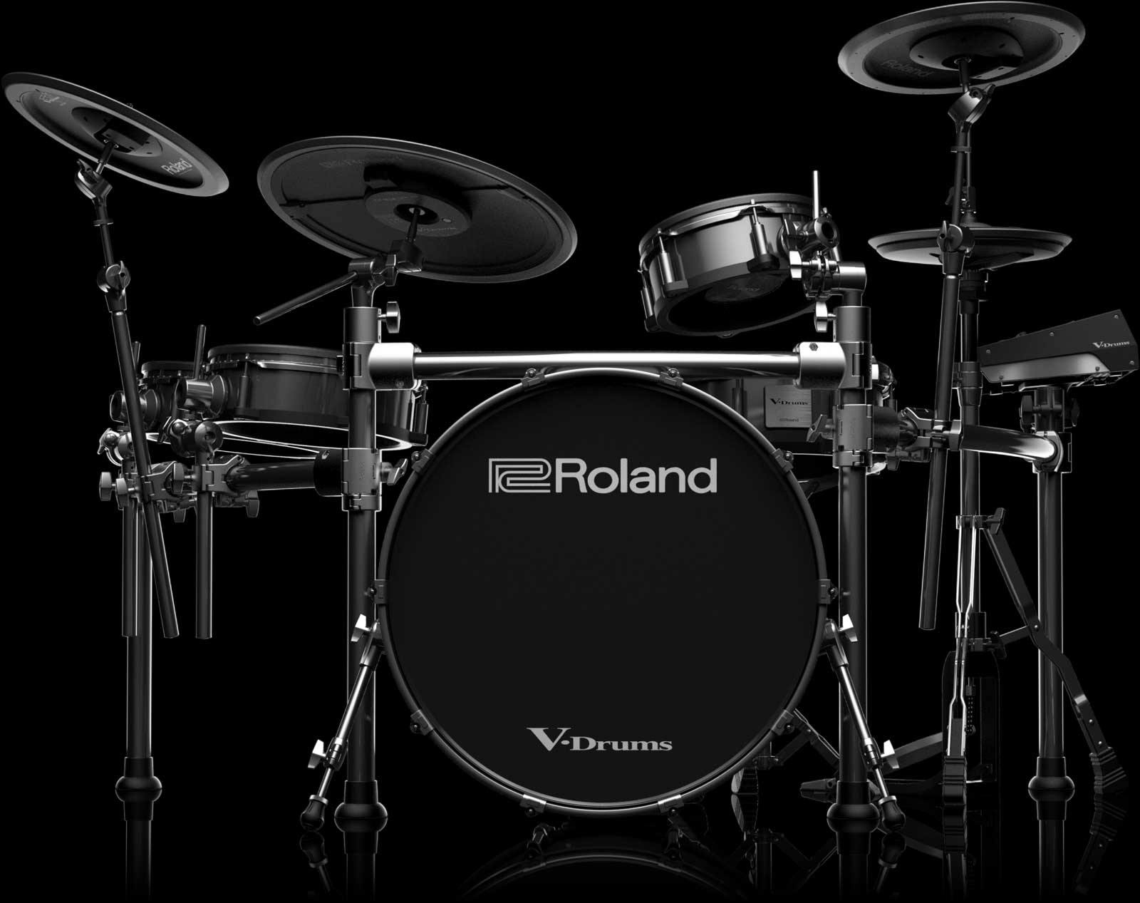 roland td 50kv v drums with kd a22. Black Bedroom Furniture Sets. Home Design Ideas