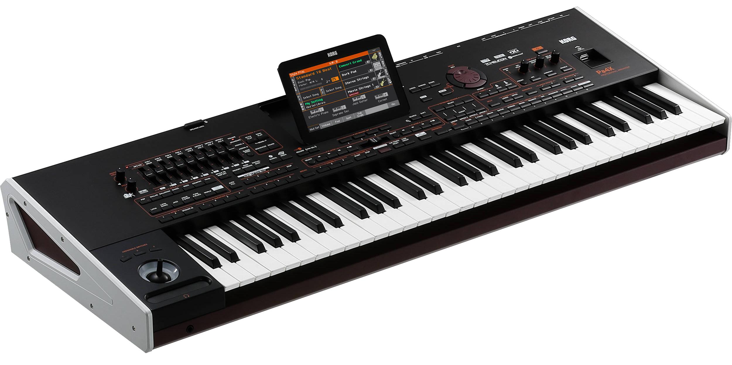 korg pa4x 61 key professional arranger keyboard elevated audio. Black Bedroom Furniture Sets. Home Design Ideas