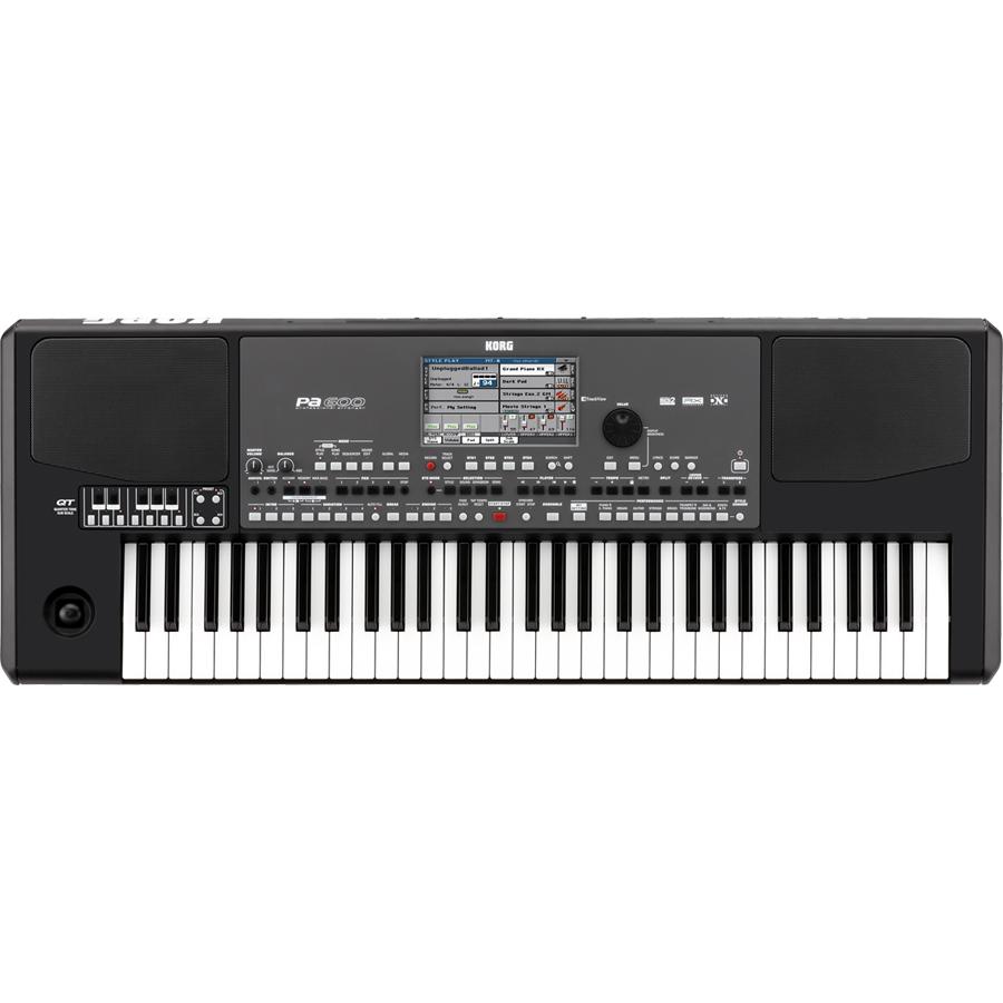 KORG Pa600QT 61-Key Professional Arranger Keyboard thumbnail