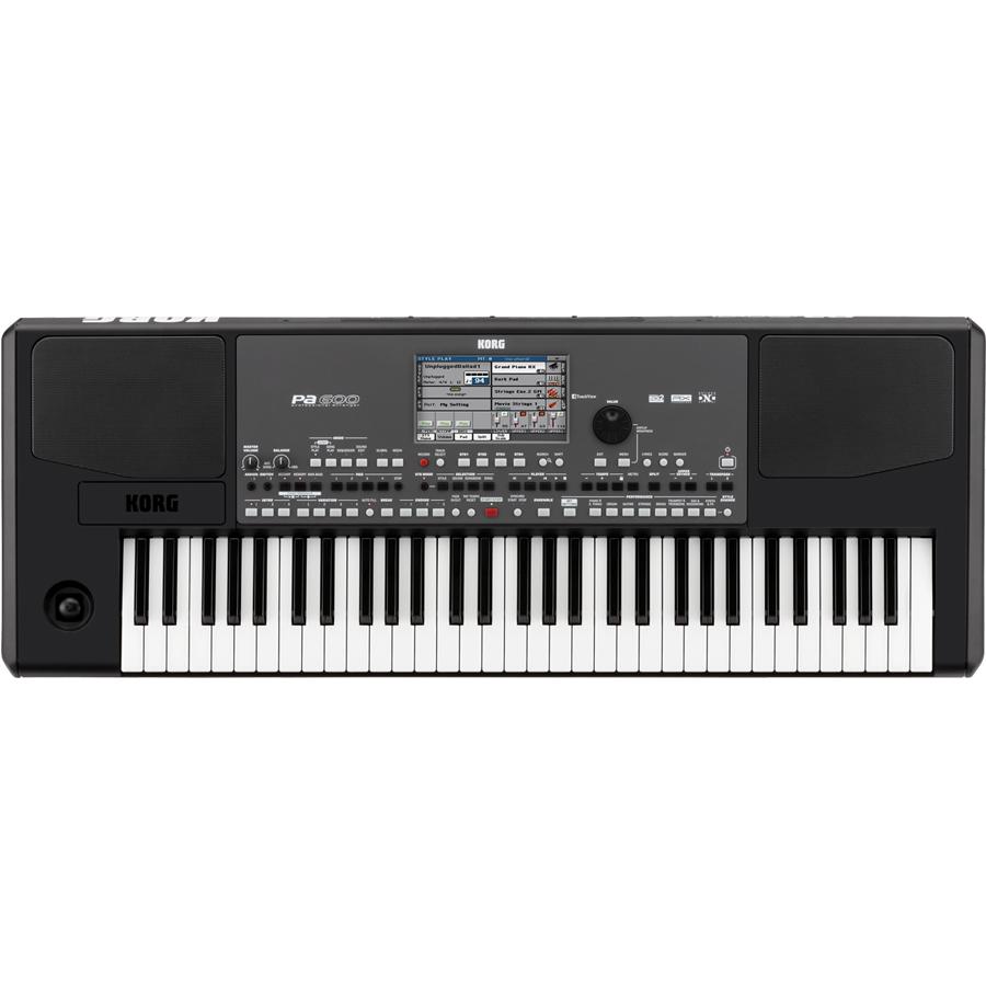 KORG Pa600 61-Key Professional Arranger Keyboard thumbnail