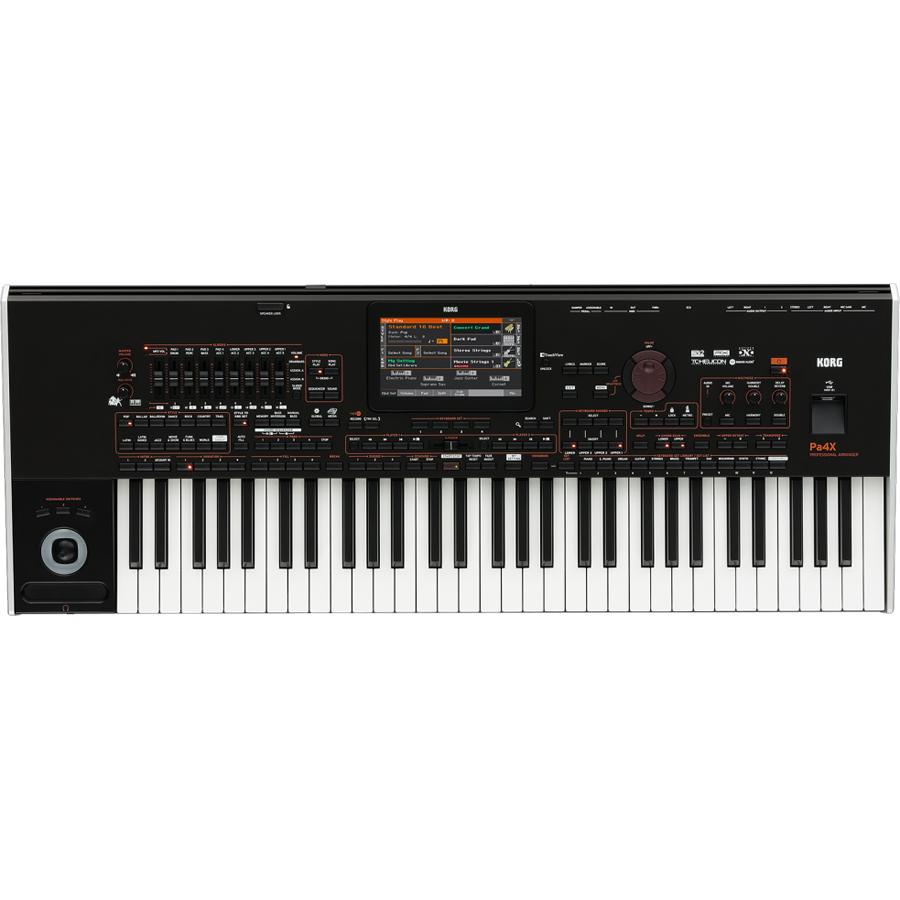 KORG Pa4X 61-Key Professional Arranger Keyboard thumbnail