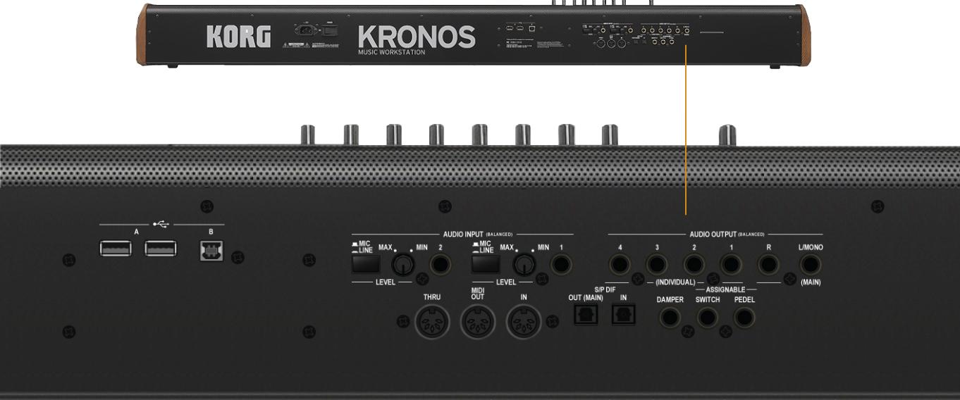 KORG KRONOS 61-Key Keyboard Music Workstation – Elevated Audio