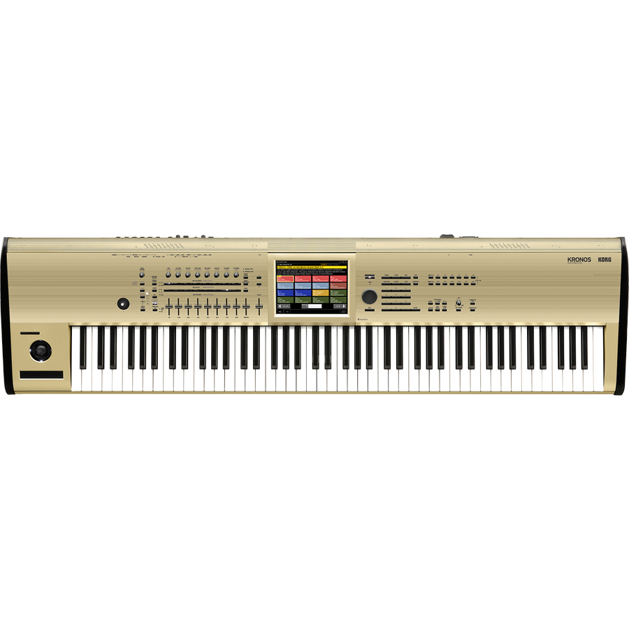 "KORG KRONOS 88-Key Keyboard Music Workstation <font color=dd00"">[Limited Edition Gold Model]</font> thumbnail"