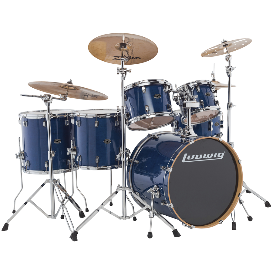 Ludwig Evolution Maple Drum Sets thumbnail