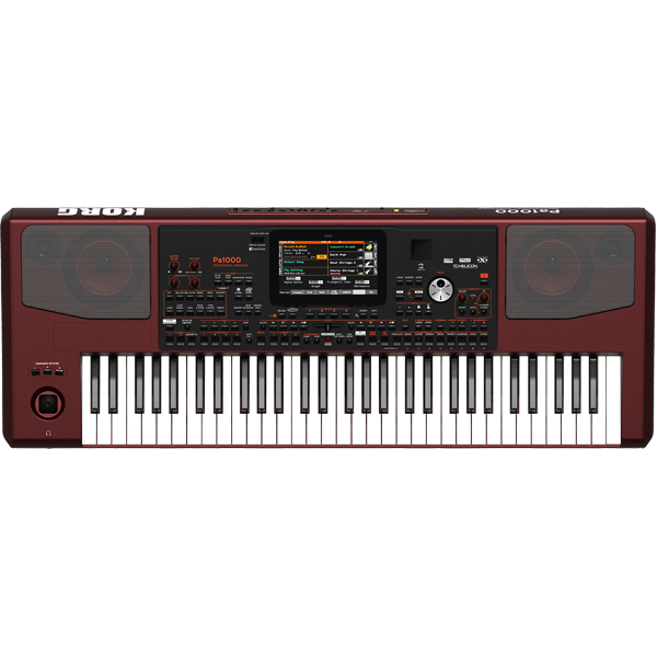 KORG Pa1000 61-Key Professional Arranger Keyboard thumbnail