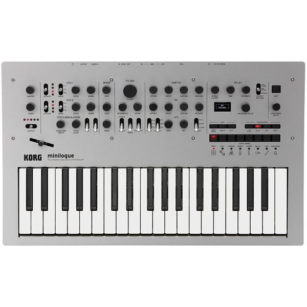 KORG minilogue 37-Key Polyphonic Analog Synthesizer thumbnail