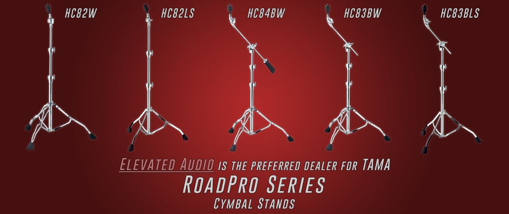 Tama Cymbal Stands Elevated Audio