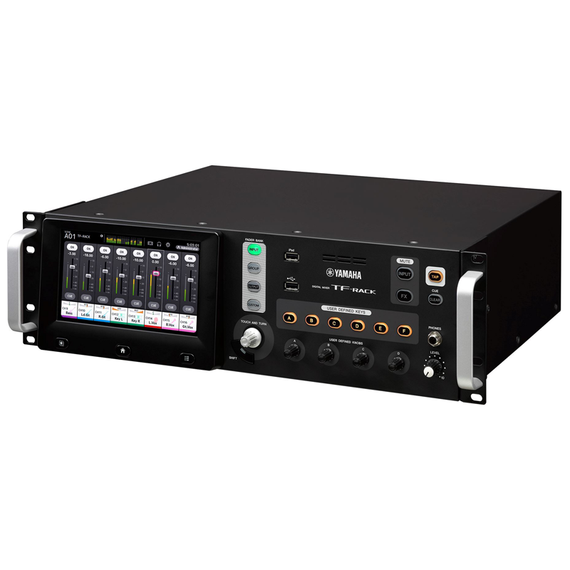yamaha tf rack digital rack mount mixer elevated audio. Black Bedroom Furniture Sets. Home Design Ideas