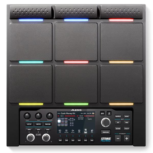 "<font color=dd00"">NEW!</font> Alesis Strike MultiPad 9-Pad Drum Controller thumbnail"