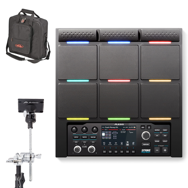 "Alesis Strike MultiPad + Clamp and SKB Bag <font color=dd00"">$788</font> thumbnail"