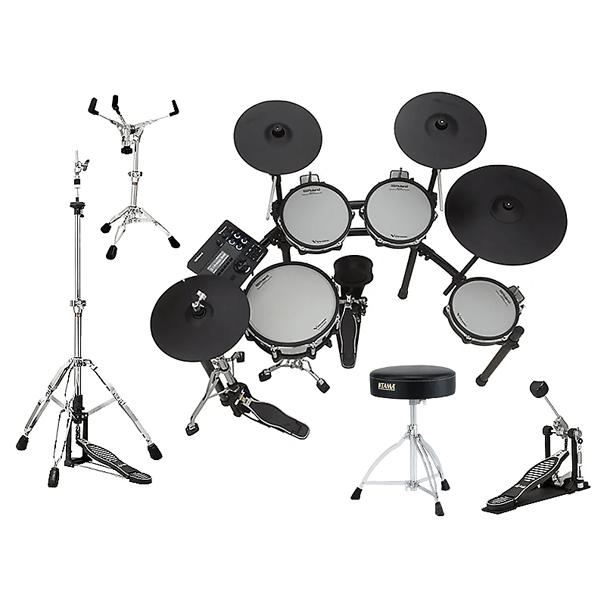 """Roland TD-27KV Electronic V-Drum Kit <font color=dd00"""">HARDWARE BUNDLE – $2999.99!</font> thumbnail"""