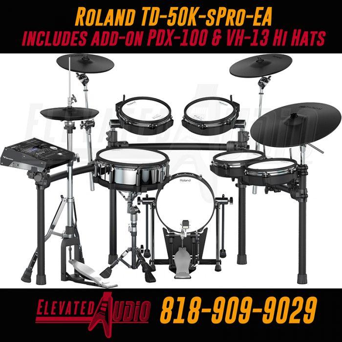 Roland TD-50K-sPro-EA 818-909-9029
